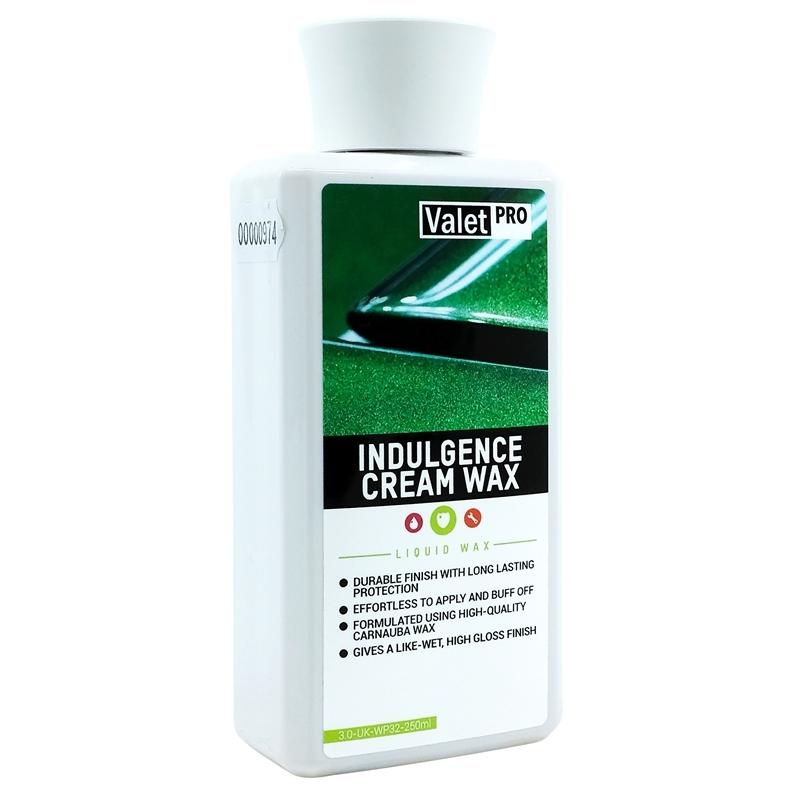 Indulgence Cream Wax 250ml de ValetPRO en vente sur AM-Detailing.com