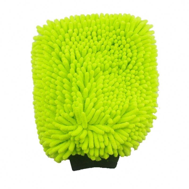 Gant de lavage - Gant microfibre chenilles - AM-Detailing