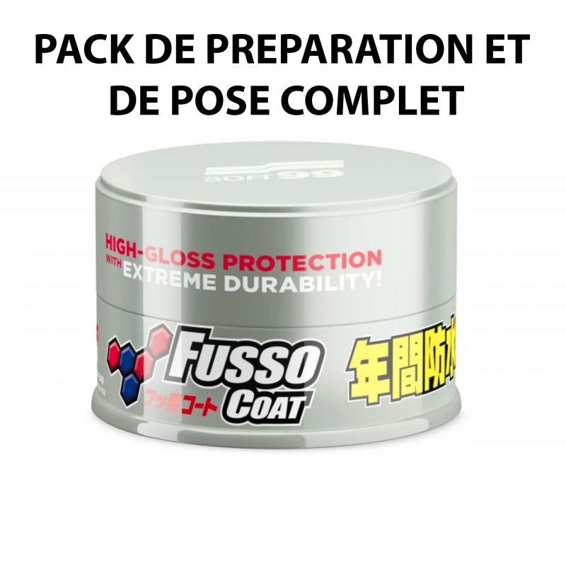 Pack Fusso Coat Light Soft99 - Cire synthétique - AM-Detailing