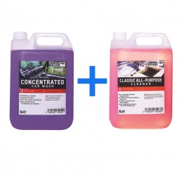 Concentrated Car Wash + Classic All purpose cleaner - ValetPro