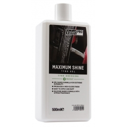 Maximum Shine Tyre Gel 500ml - ValetPro