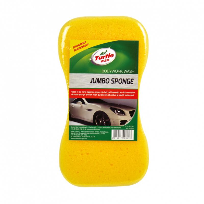 Jumbo Sponge Turtle Wax - Eponge lavage - AM-Detailing
