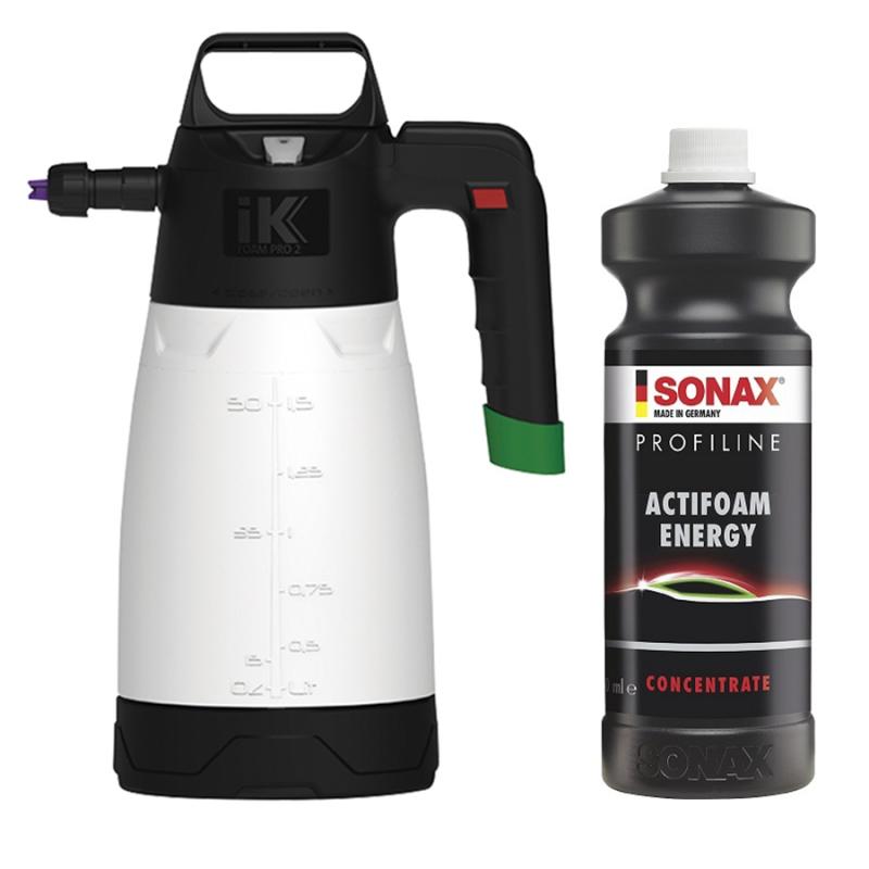 IK Foam Pro 2 + SONAX - Kit prélavage - AM-Detailing