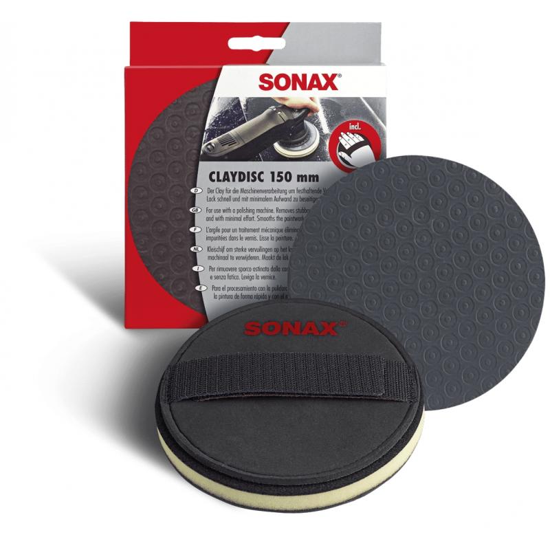 Clay Disc 150mm SONAX - Décontamination - AM-Detailing