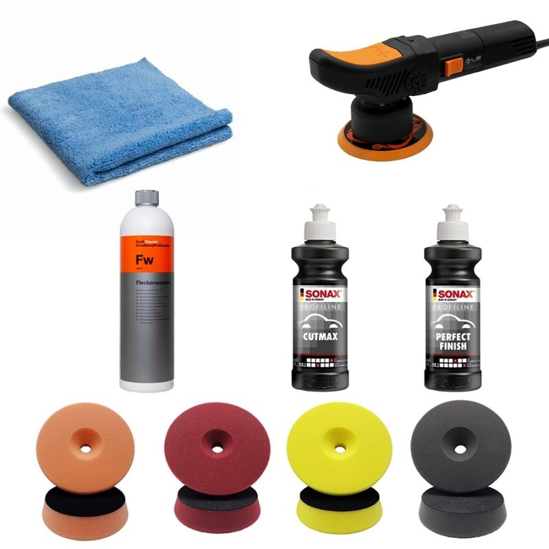 Pack de polissage T2000 de SONAX et Koch Chemie en vente sur AM-Detailing.com